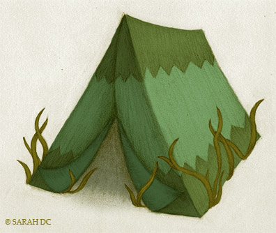 Homes, Houses, Places we live - Tent