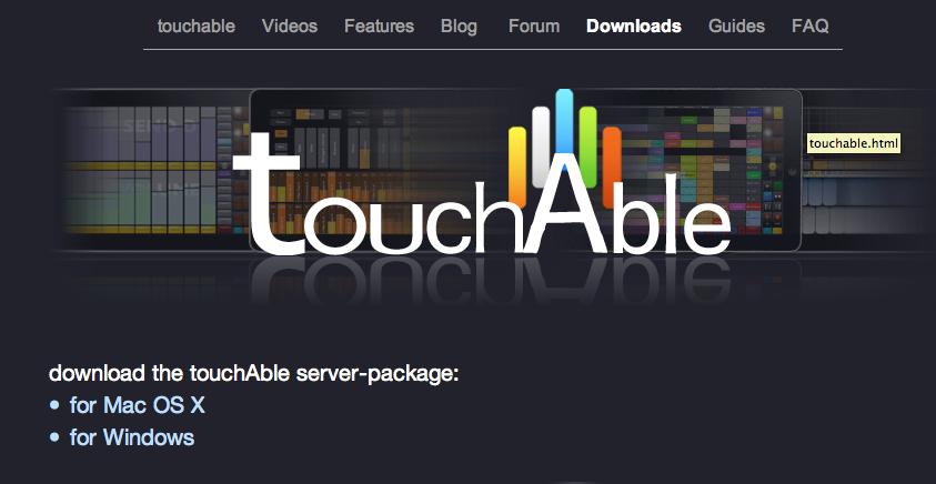 連線你的Touch Able & Ableton Live 蘋果IPAD — Ableton Live