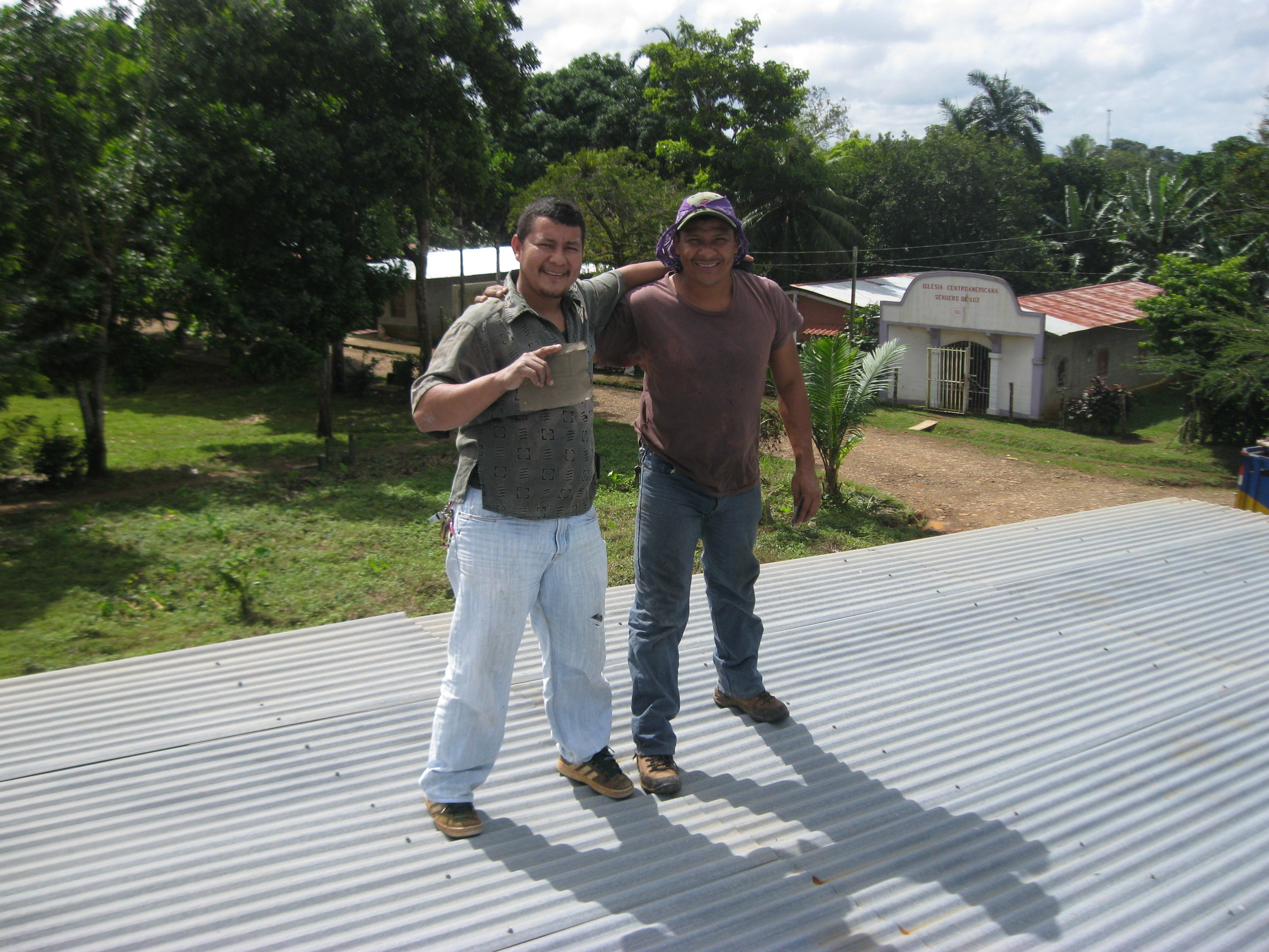 Pastor Carlos and Cesar