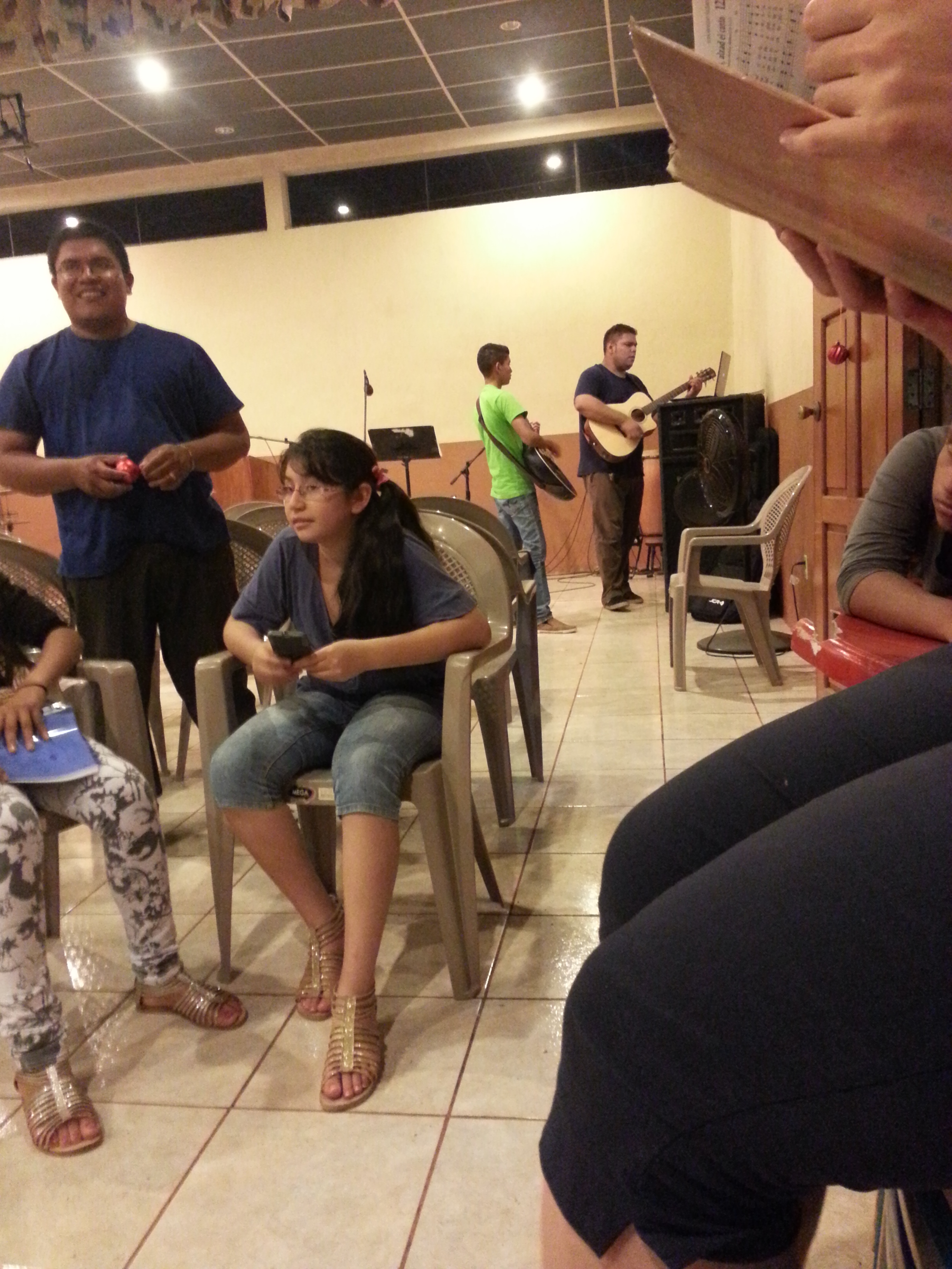 Worship practice for 23rd! Photo by Jose Sanchez
