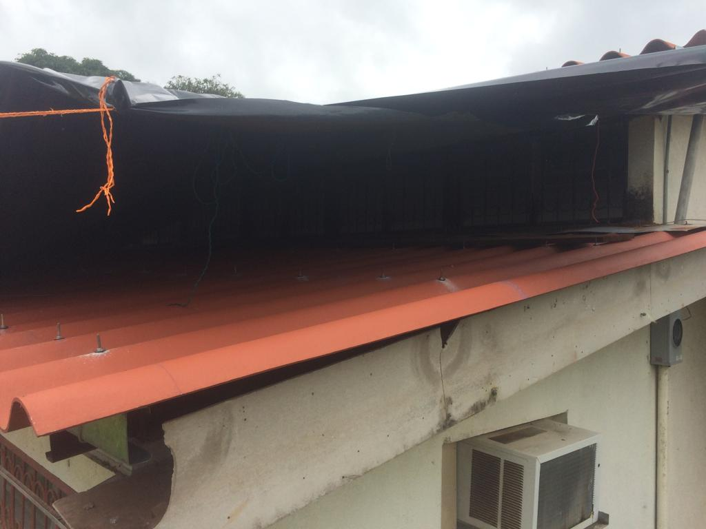 Praise Report - *The women's dorm roofing was installed (pic to left) just short the men's.*The medical outreach was a huge blessing to the community.*Tino rededicated his life to Jesus.