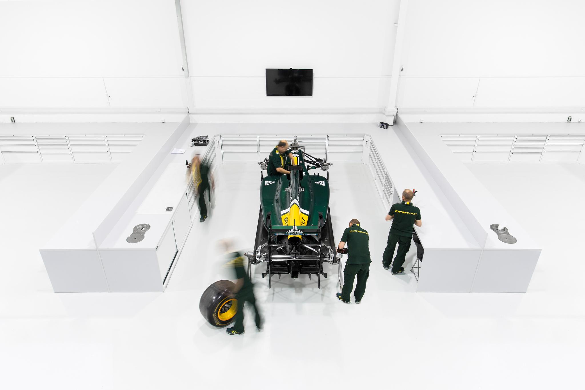Caterham F1 Factory