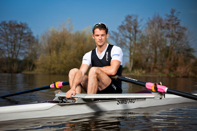 Editorial Sports Olympic Rower Athlete Chris Bartley