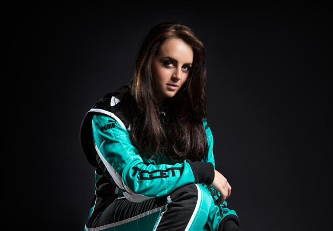 Laura Tillett British Formula Renault Racing Driver