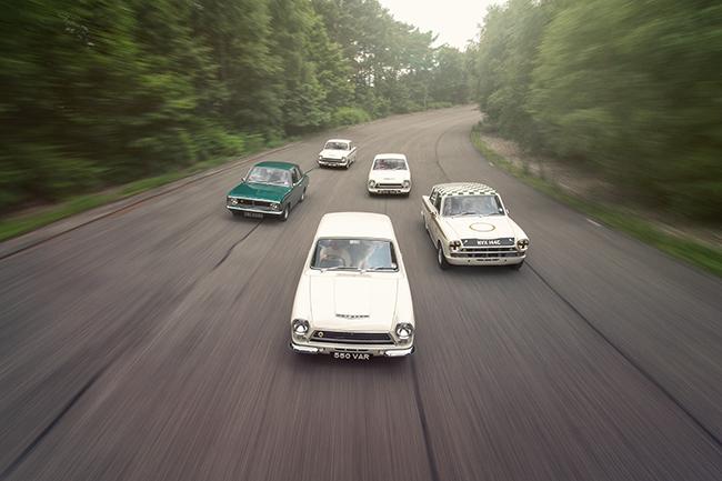 Lotus Cortina 50th Anniversary Golden Mk1 Mk2 Race Bred Saloon Classic CARS