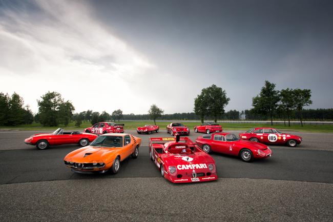Alfa Romeo Greatest Alfas Montreal 8C SZ Disco 155 Racer Giulia Spider Cloverleaf Autodelta
