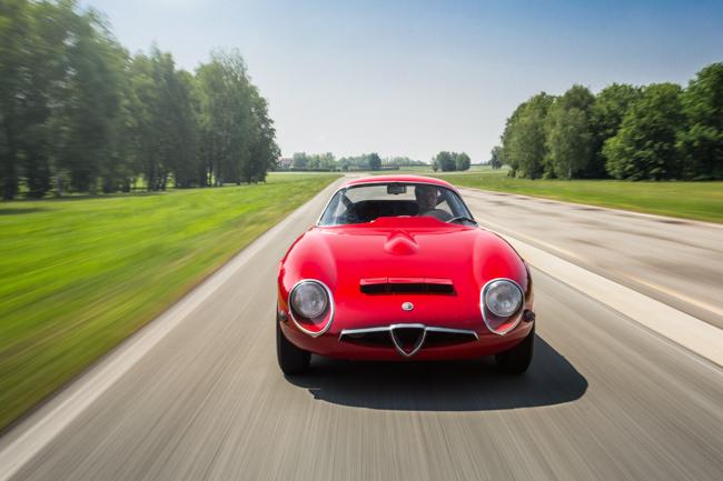 Alfa Romeo TZ Autodelta Racer Balocco Italy Lightweight Zagato