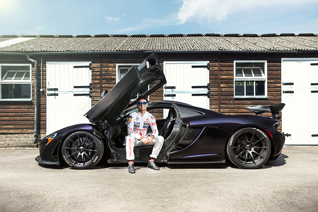 McLaren P1 Sergio Perez Checo F1 Formula One Racing Driver Celebrity Portrait Goodwood Festival of Speed Blog