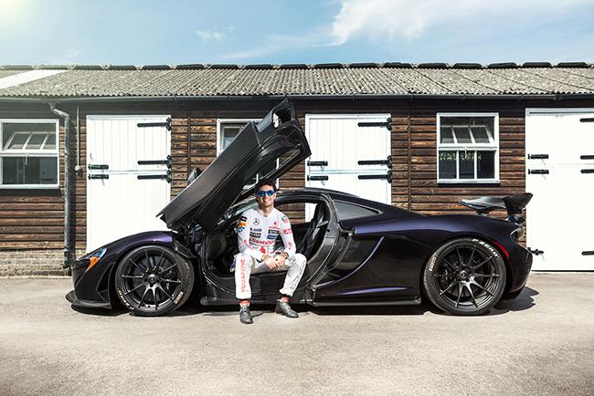 McLaren P1 Sergio Perez Checo F1 Formula One Racing Driver Celebrity Portrait Goodwood Festival of Speed Blog