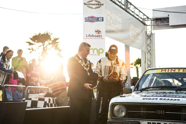 Rallye Sunseeker Mayor Trophy Presentation Poole Pottery