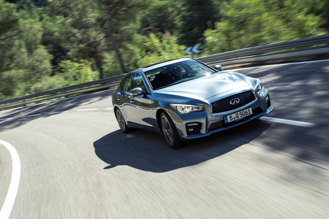 Infiniti Q50 Direct Adaptive Steering