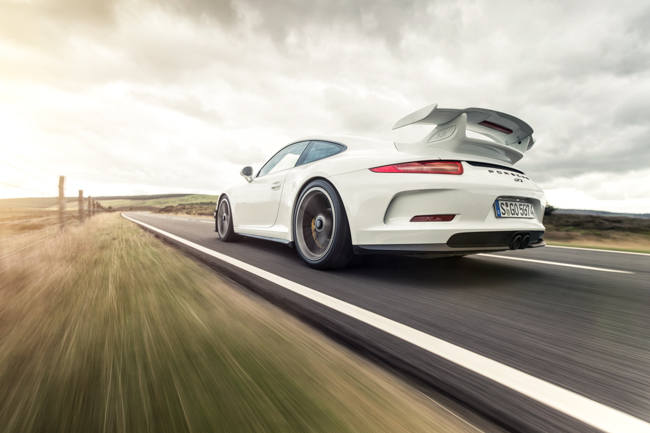 Porsche 991 911 GT3 Four Wheel Steer PDK