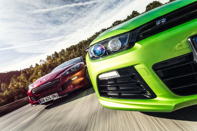 Peugeot RCZ-R vs VW Scirocco R