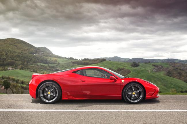 Ferrari 458 Speciale Italy Hills LaFerrari Brakes
