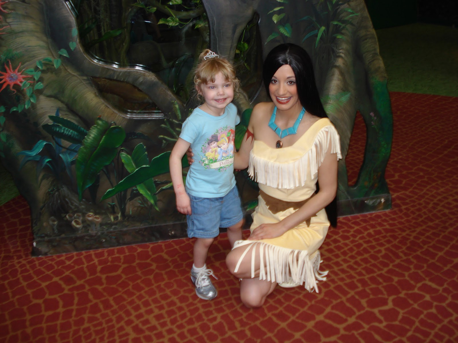 Pocahontas at Rafiki's Planet Watch