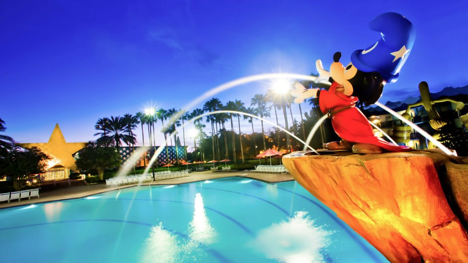 Fantasia Pool at All-Star Movies Resort