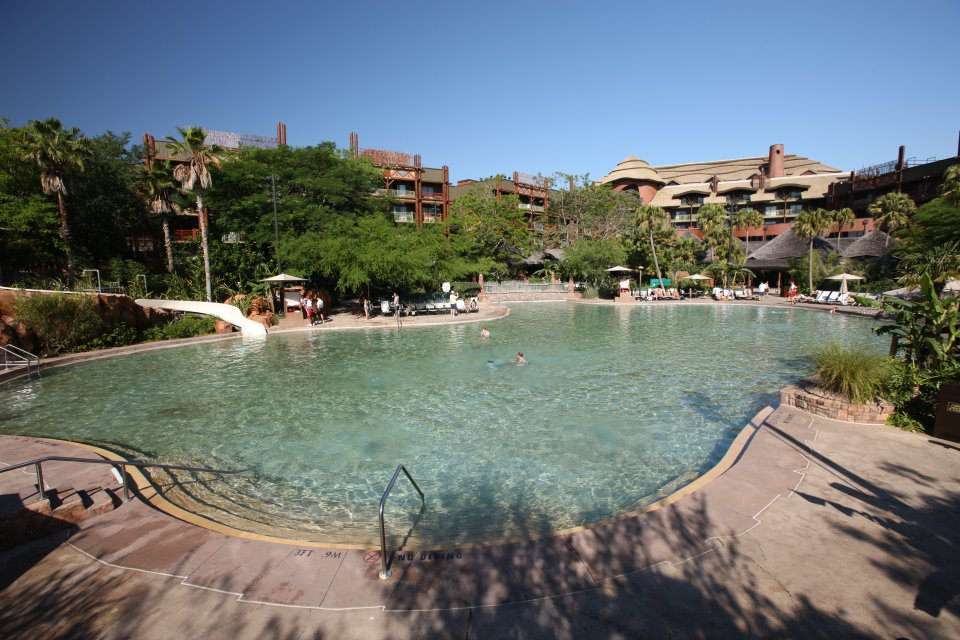 Samawati Springs Pool at Animal Kingdom Villas - Kidani