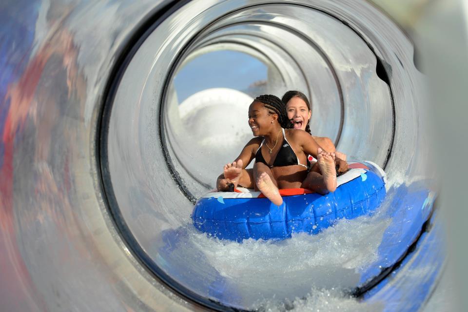 AquaDuck water coaster