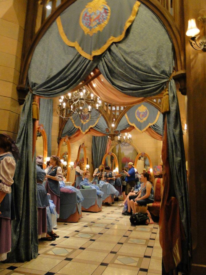 Bibbidi Bobbidi Boutique at Cinderella Castle