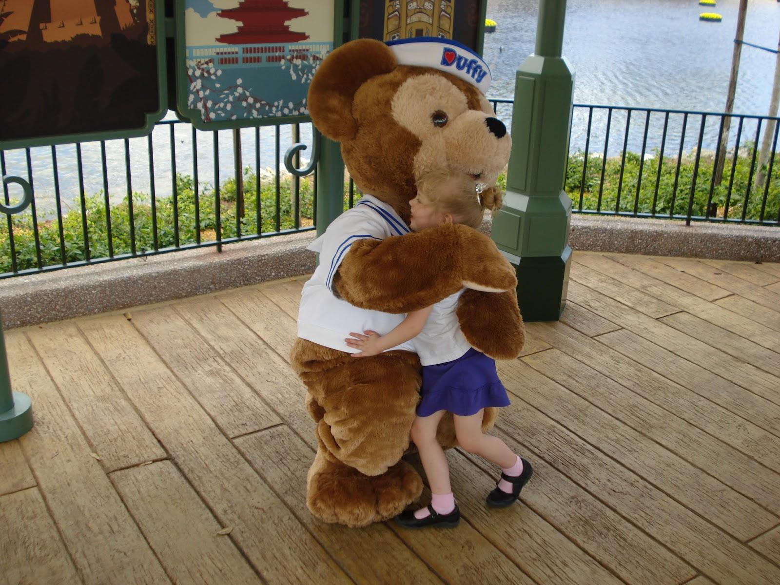 Duffy hug - one of my favorite memories!