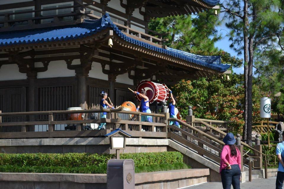 Matsuriza drummers in Japan