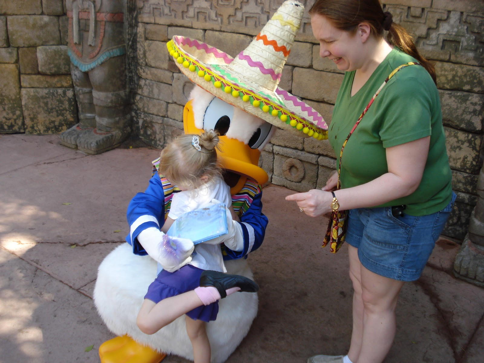 Donald in Mexico
