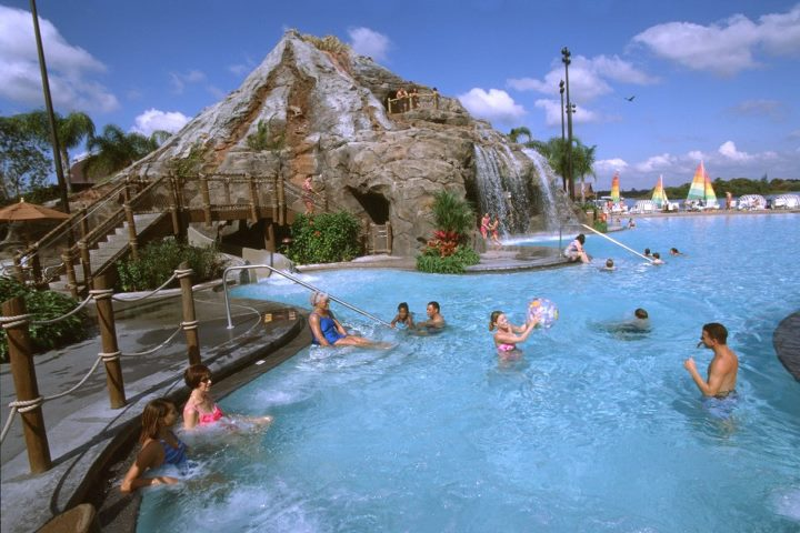 Nanea Volcano Pool at Polynesian Resort