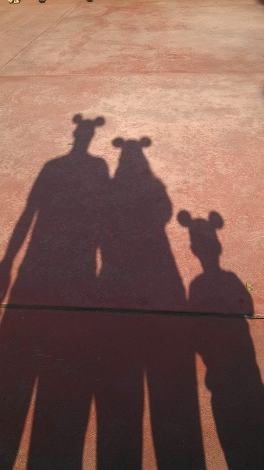 Mickey Ear Shadow
