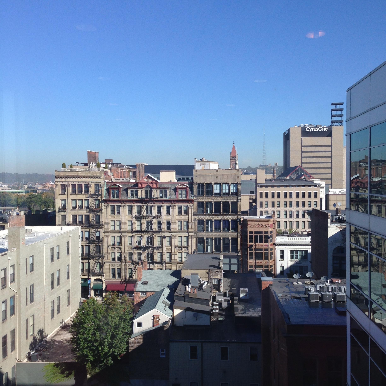 Cincinnati city views!