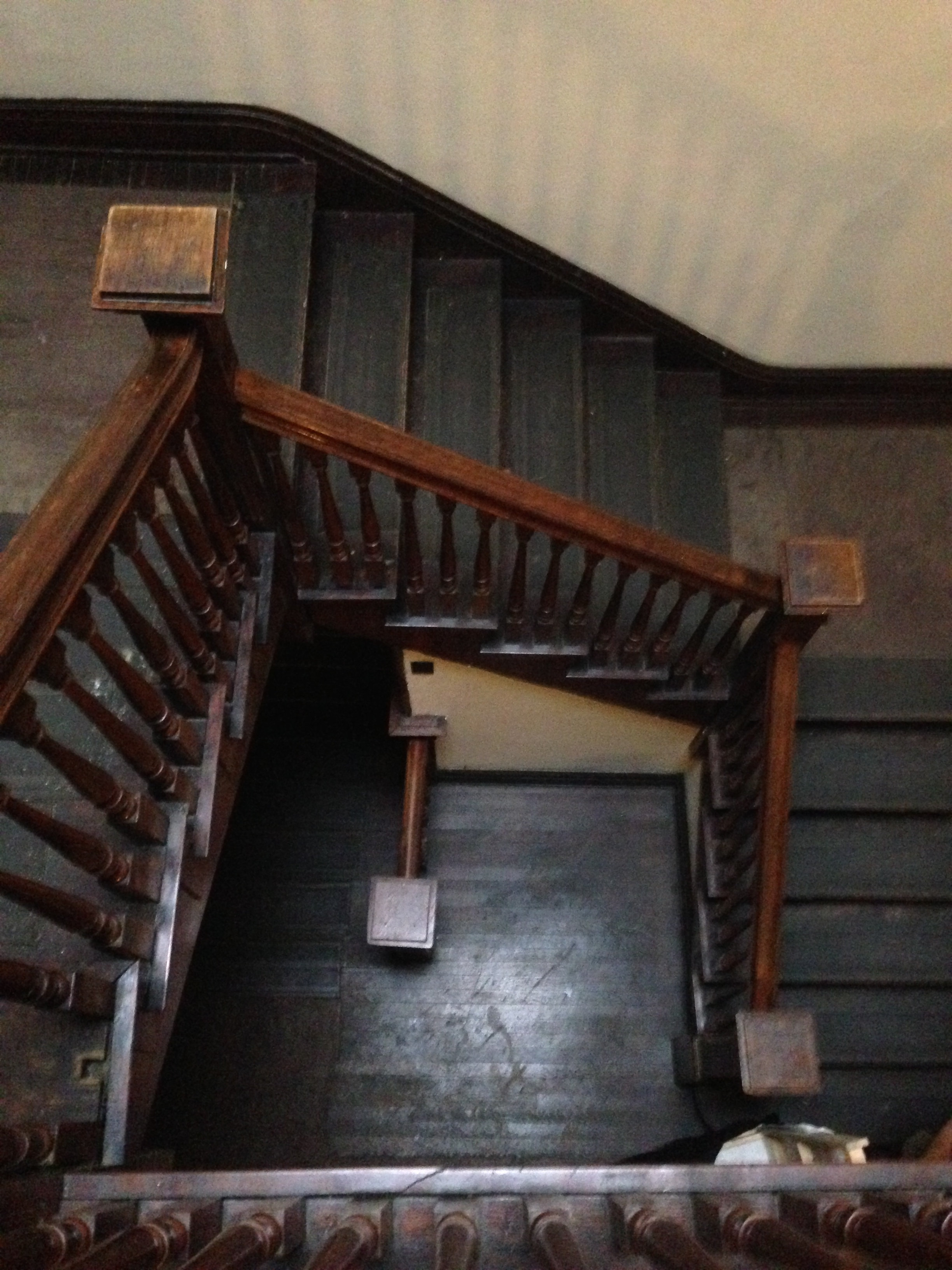 For some reason I thought it'd be a good idea to live on the top floor of a 200 year old Victorian mansion... with no elevator. Hey, I said it was an adventure.