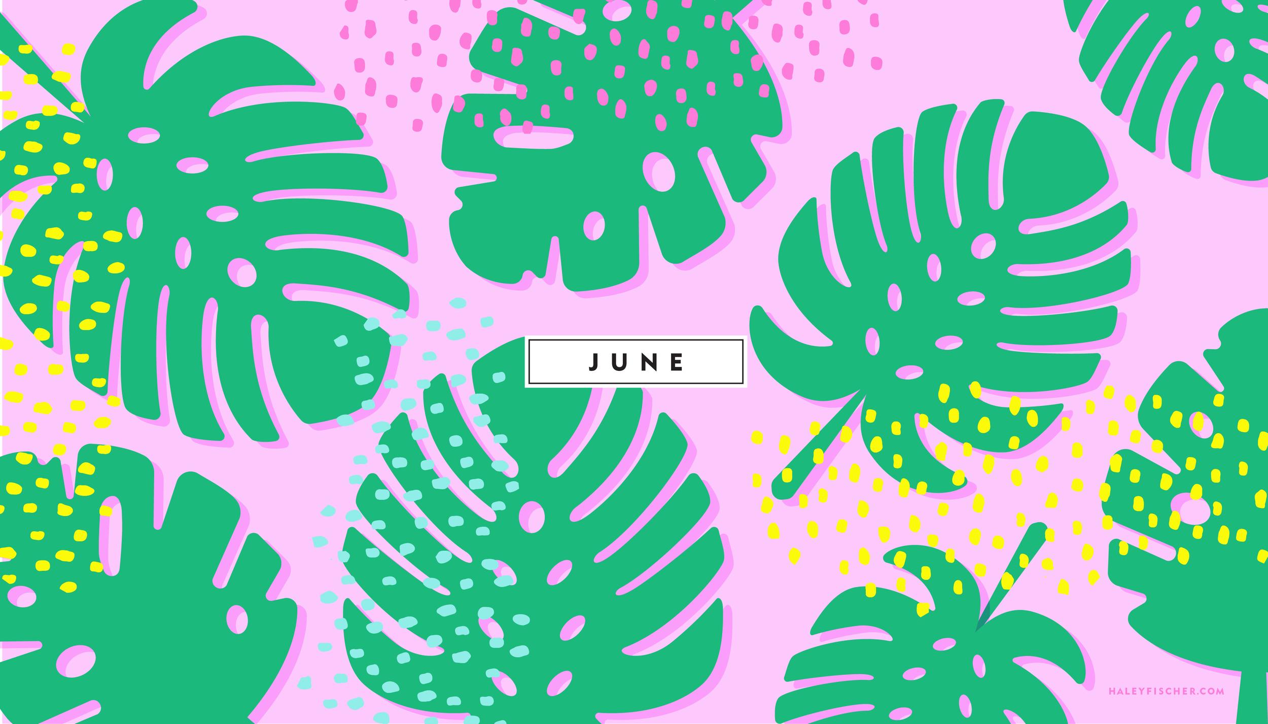 Download June Desktop Wallpaper Here