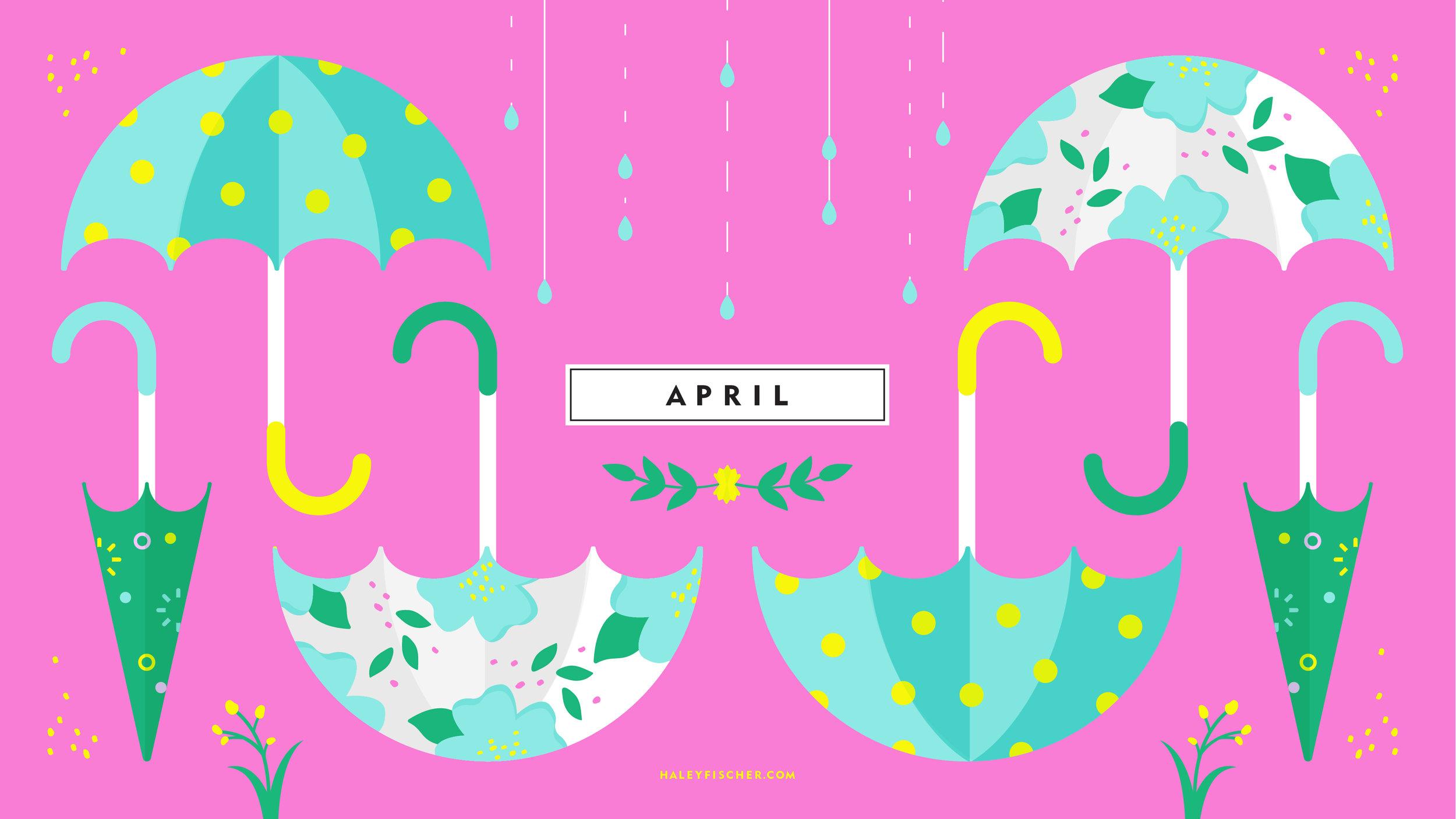 Download April Wallpaper Here