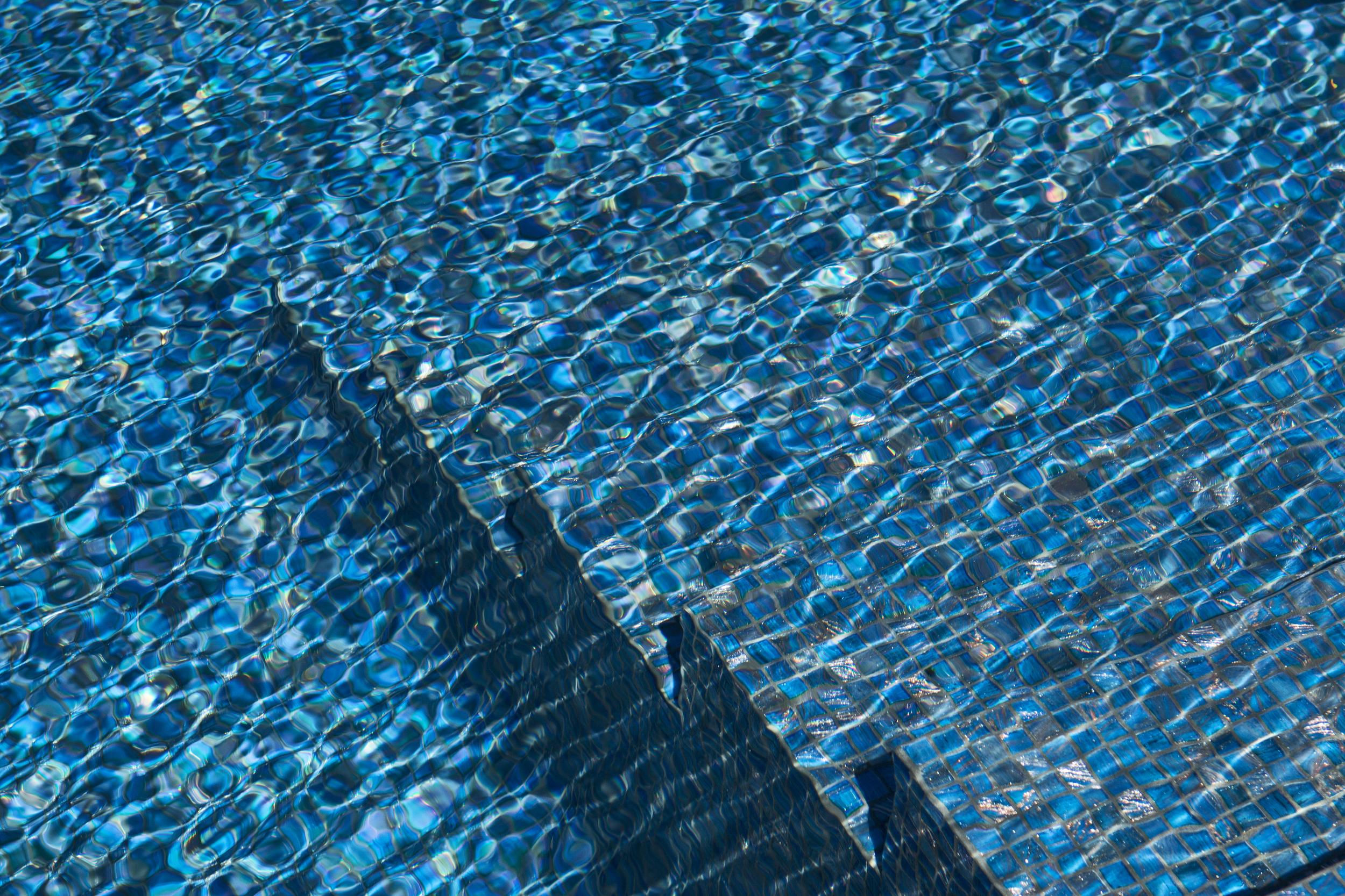 The Sunlit Pool Tile
