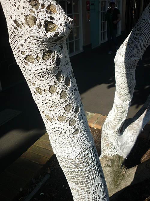 Knitted tree  Laura Knight print designer