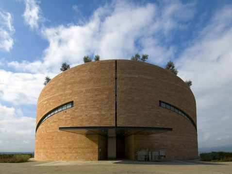 Petra Winery in Suvereto , Italy. Mario Botta  Image from the official website  http://www.botta.ch