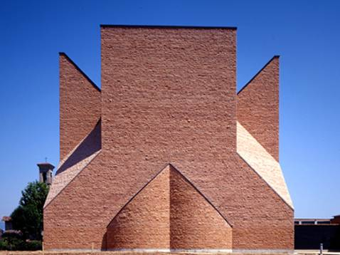 Church in Seriate, Italy Mario Botta  Image from the official website  http://www.botta.ch