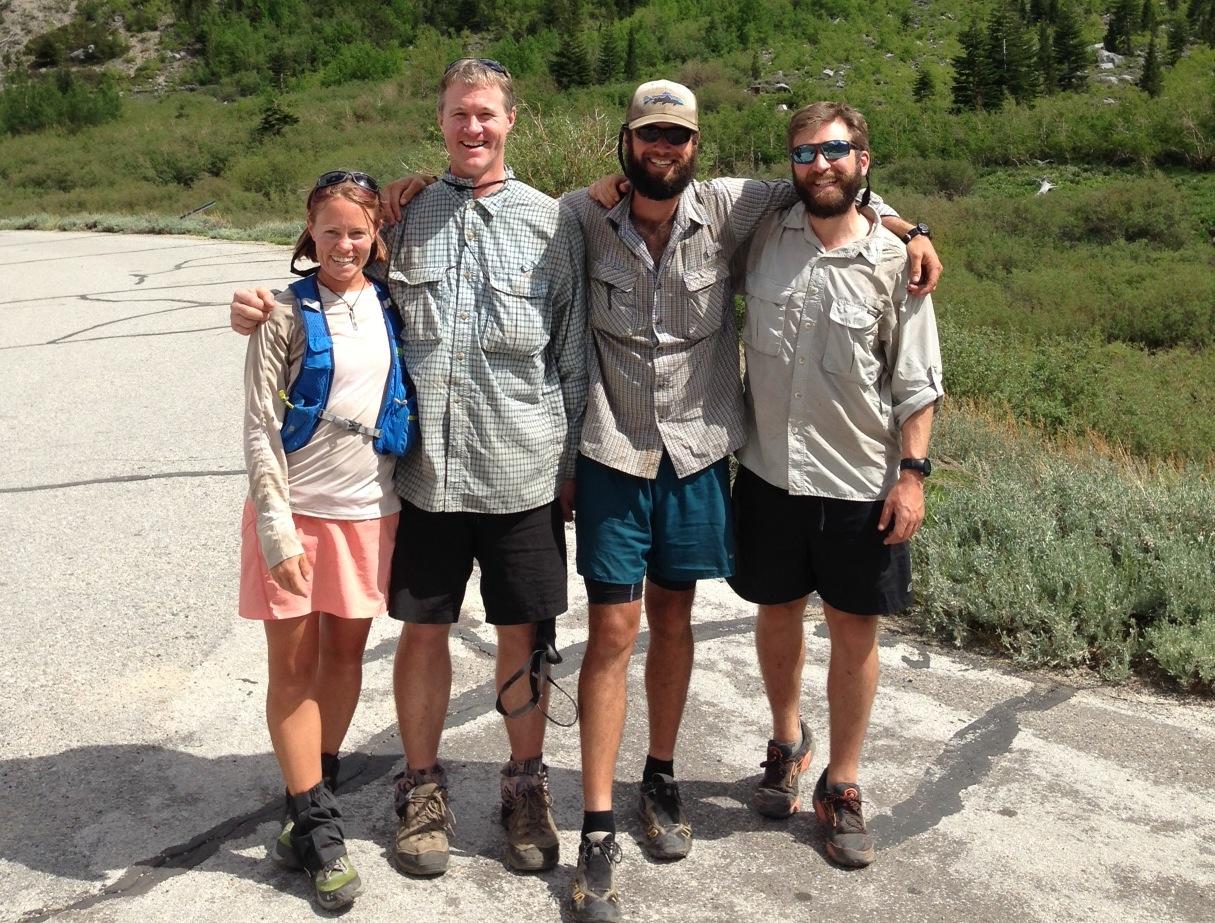 PCT:  Luna, Smitty and Wild GPS