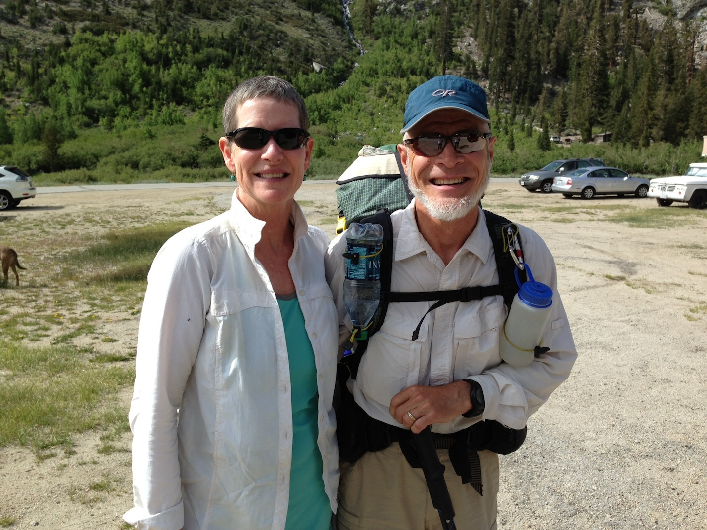 PCT: Karen and George at Onion Valley