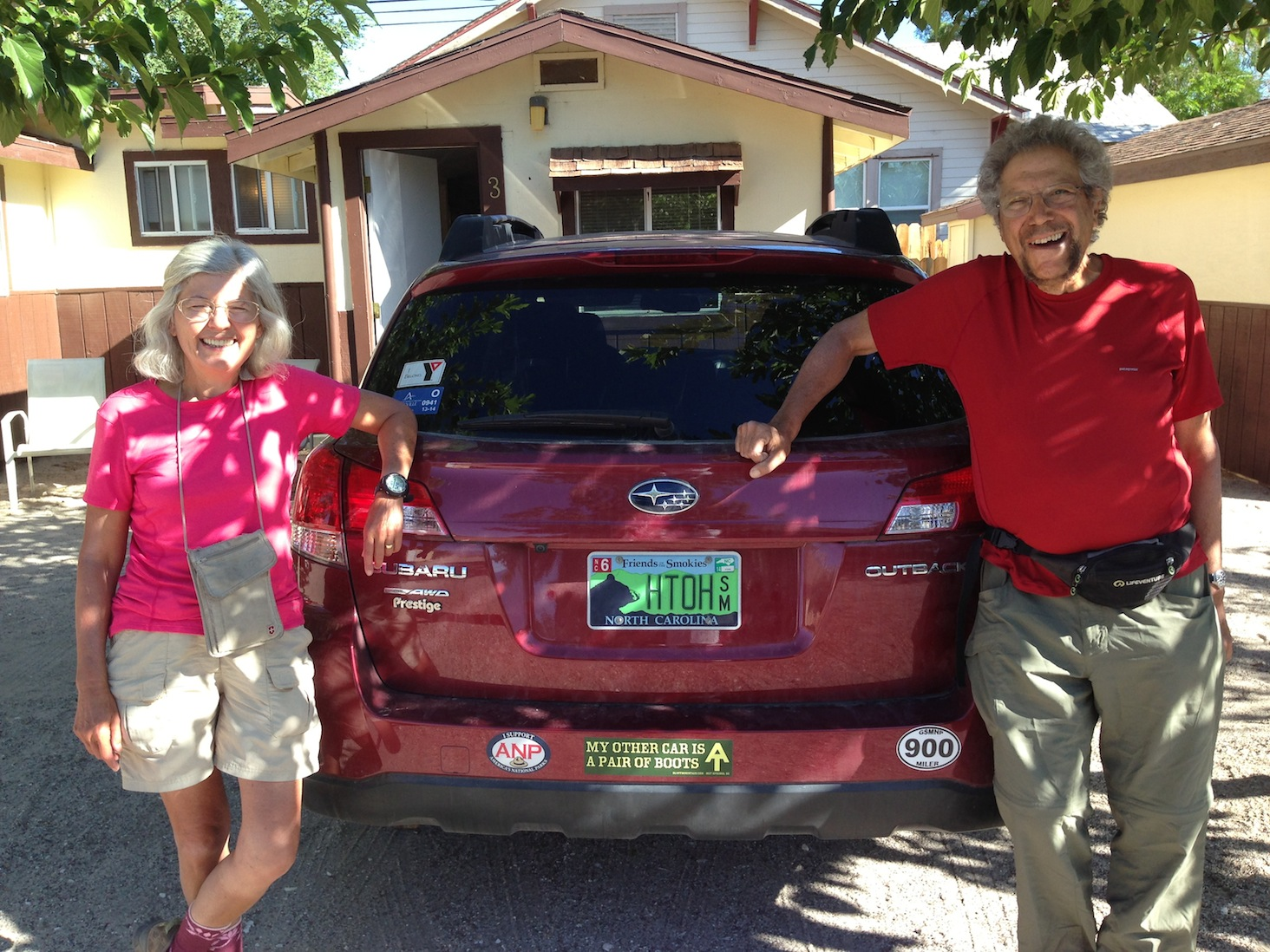 Base Camp: North Carolina hiking gurus Danny and Lenny Bernstein on June 22