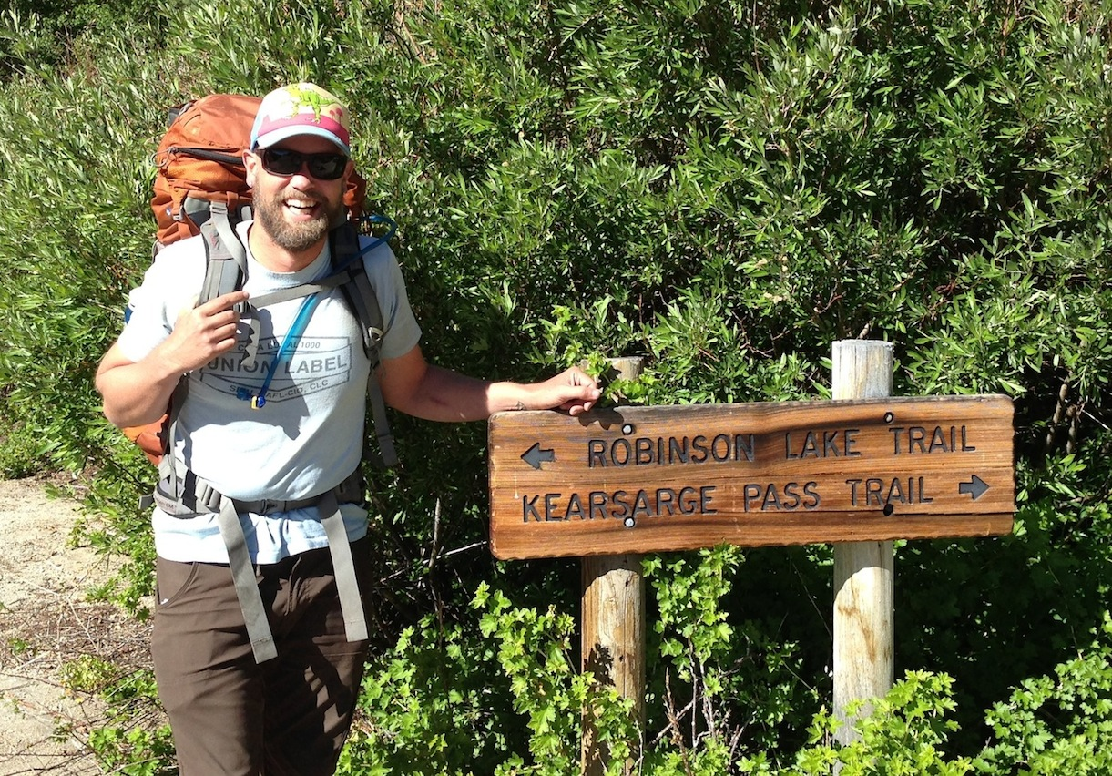 PCT section hiker Ben heading back in