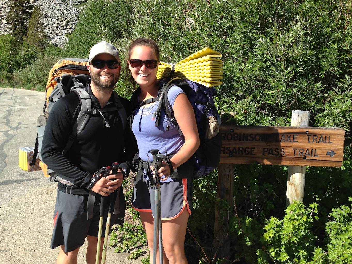 PCT: Chappie and Two Step at Onion Valley