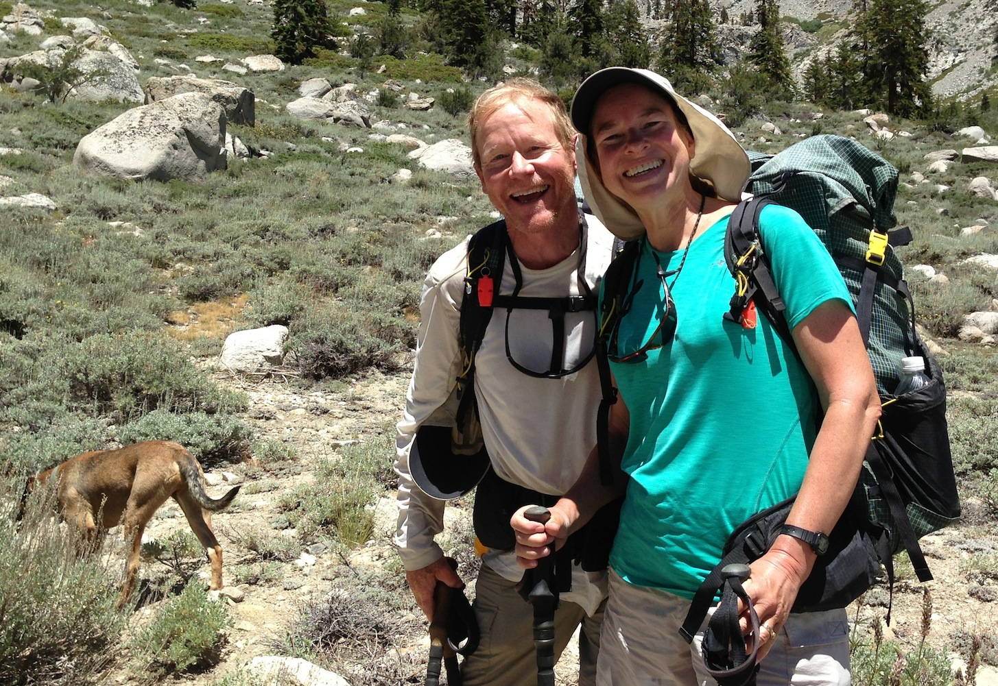 JMT: Split and Two Step after spending the 4th of July at the Base Camp