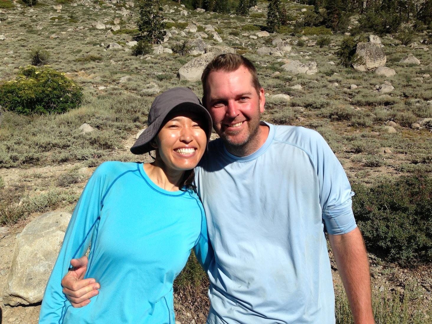 JMT hikers Esti and Brad
