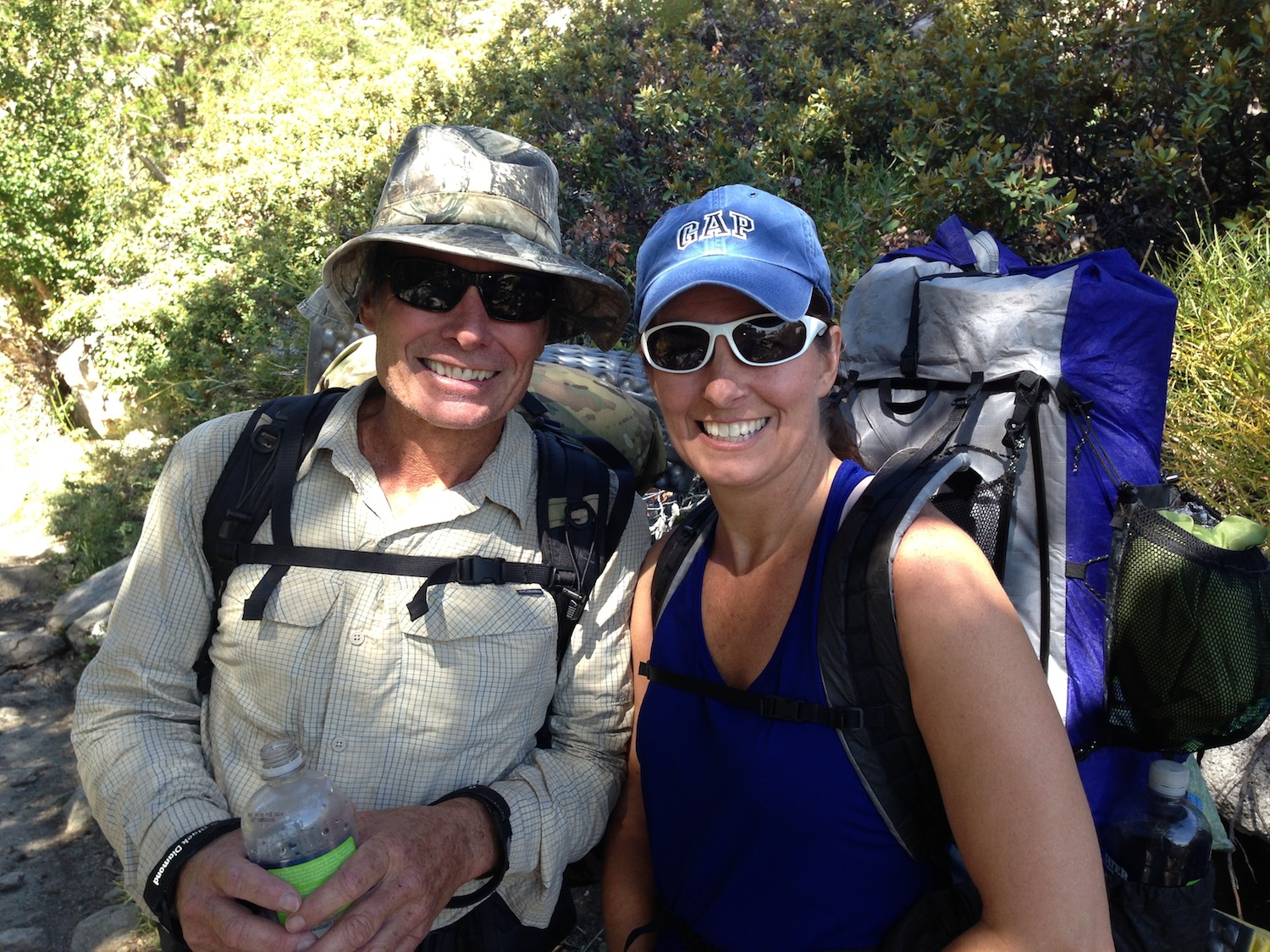 NOBO JMT hikers Greg and Janice aren't letting a little adversity keep them off the trail.