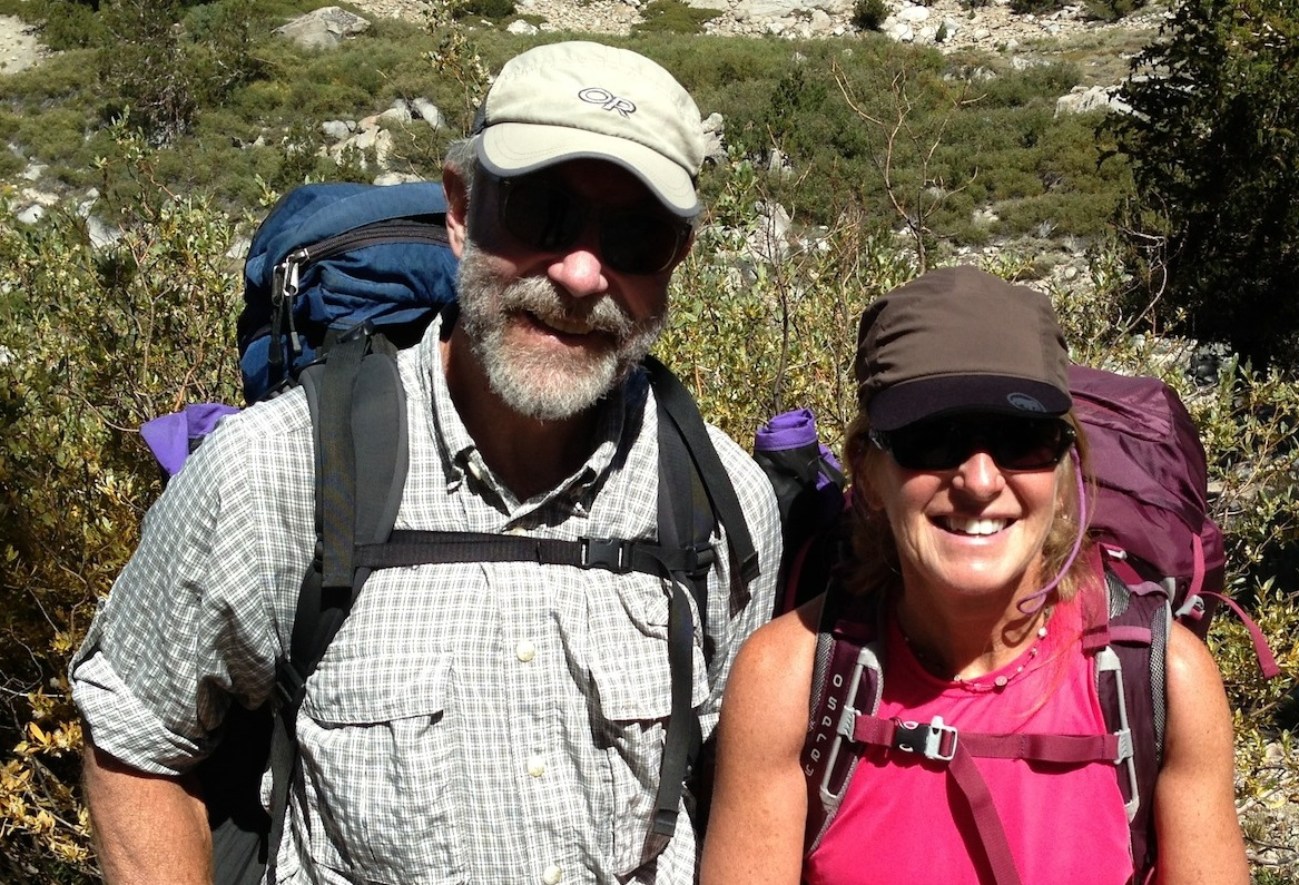 British Columbia hikers Don and Donna are doing the SOBO JMT. Go Canada! See you next week after you summit Whitney.