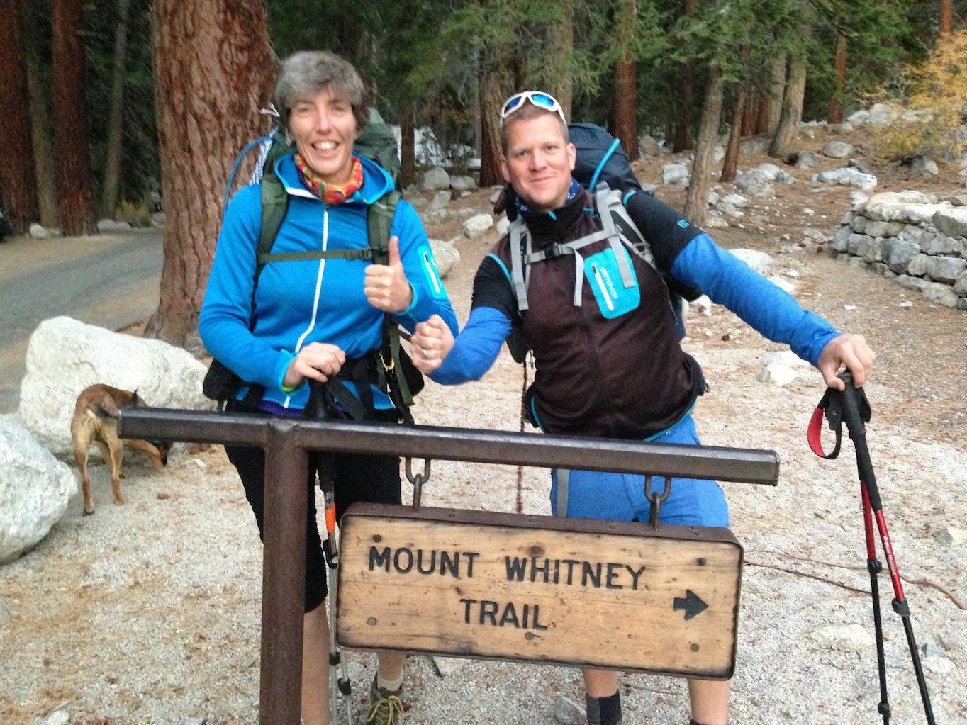 Gerdi and Stefan headed over Mt. Whitney to do the John Muir Trail nobo starting in mid October.