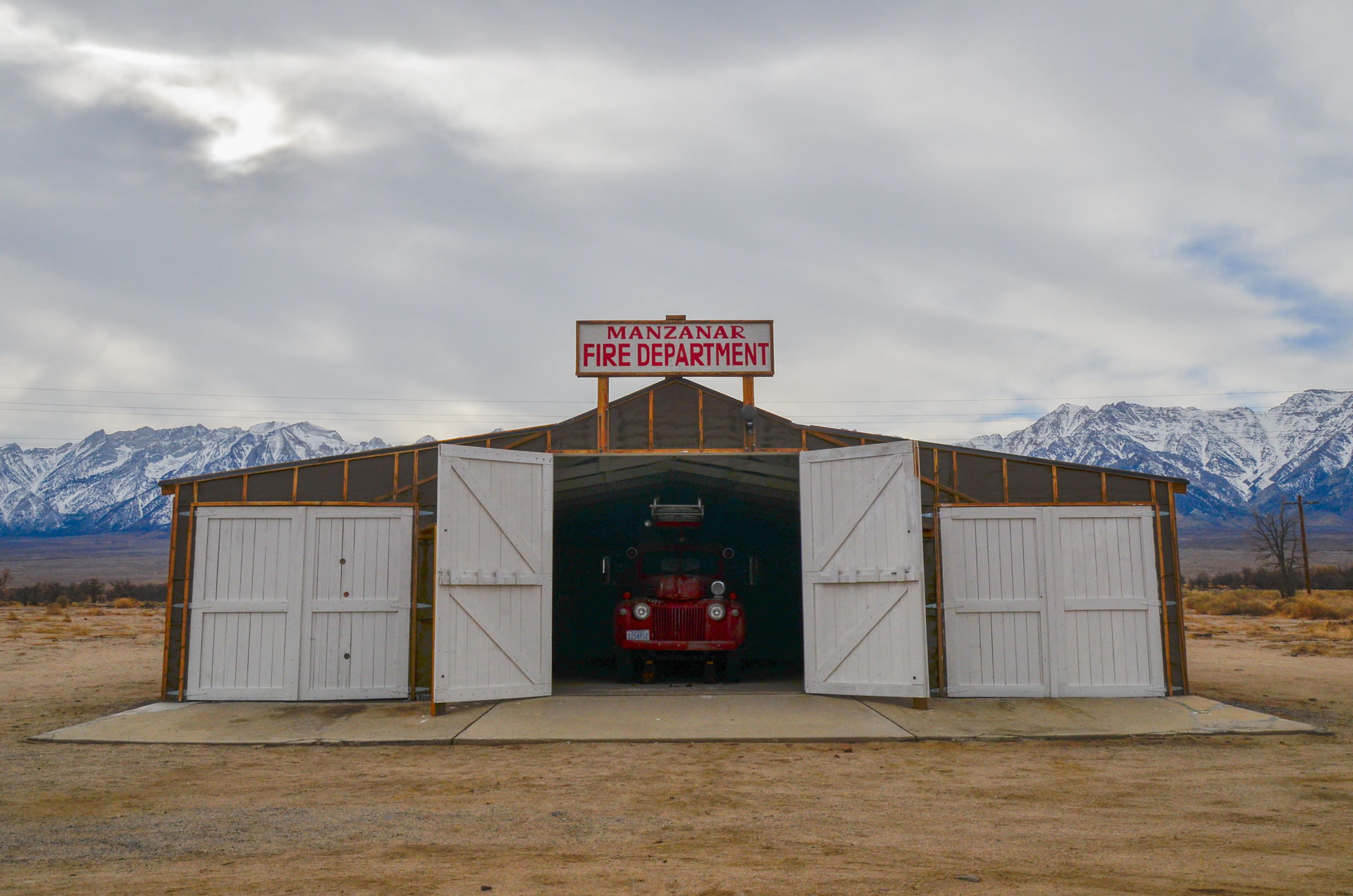Manzanar Fire Department  ©Emmaleigh Hundley