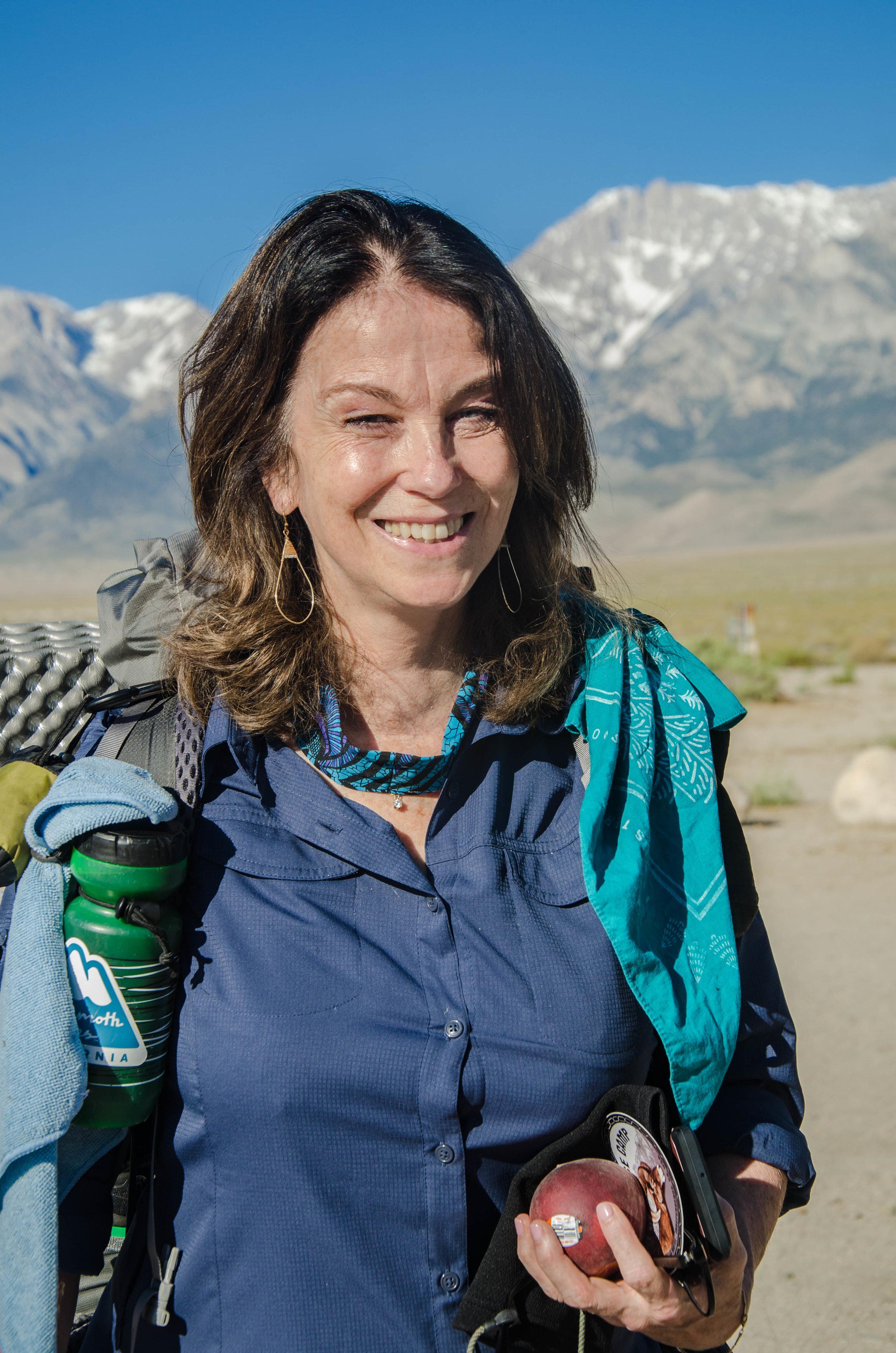 JMT Hiker Becky