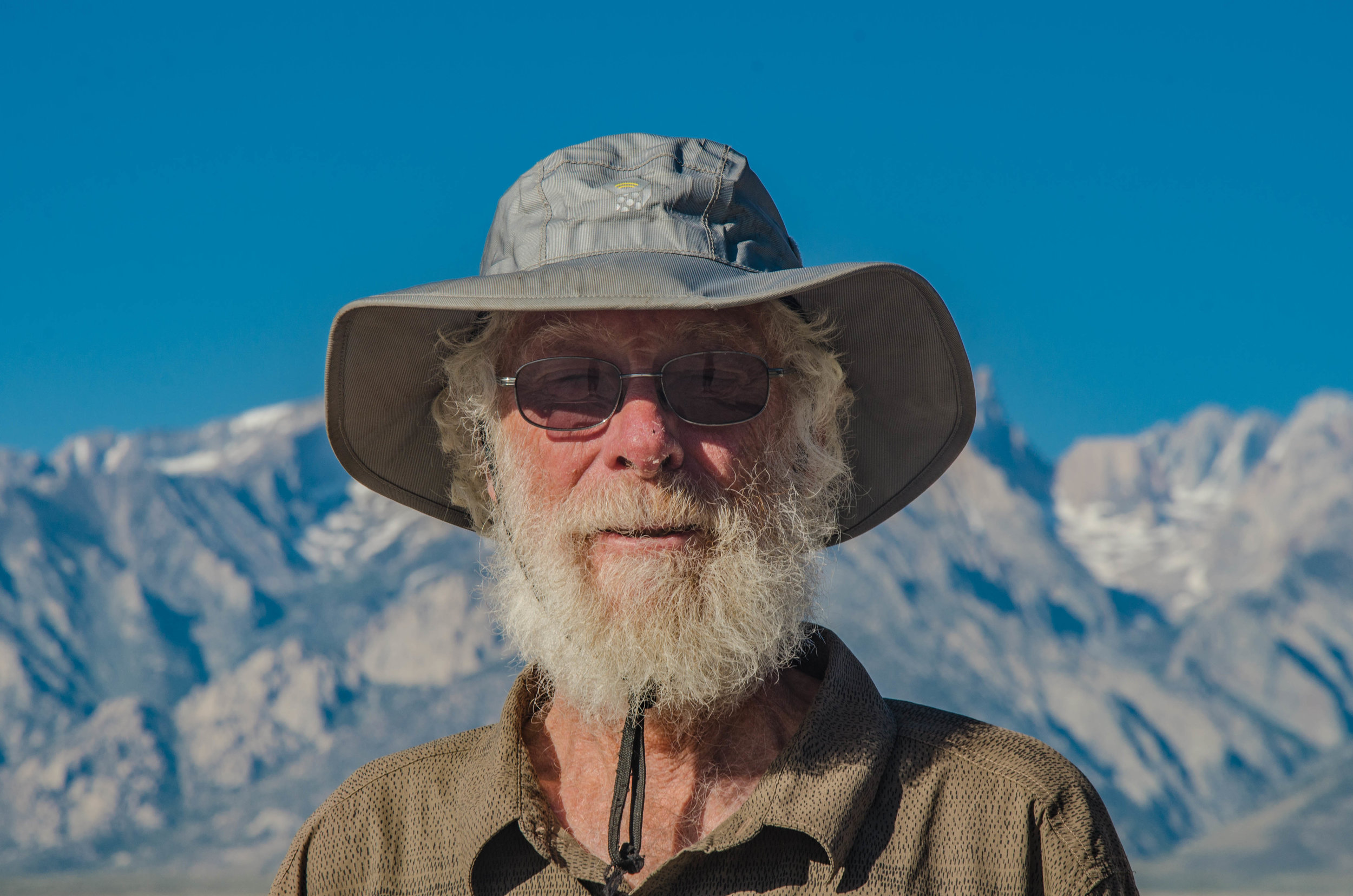 """Wizard"" Hiking the PCT for the first time at age 75!"
