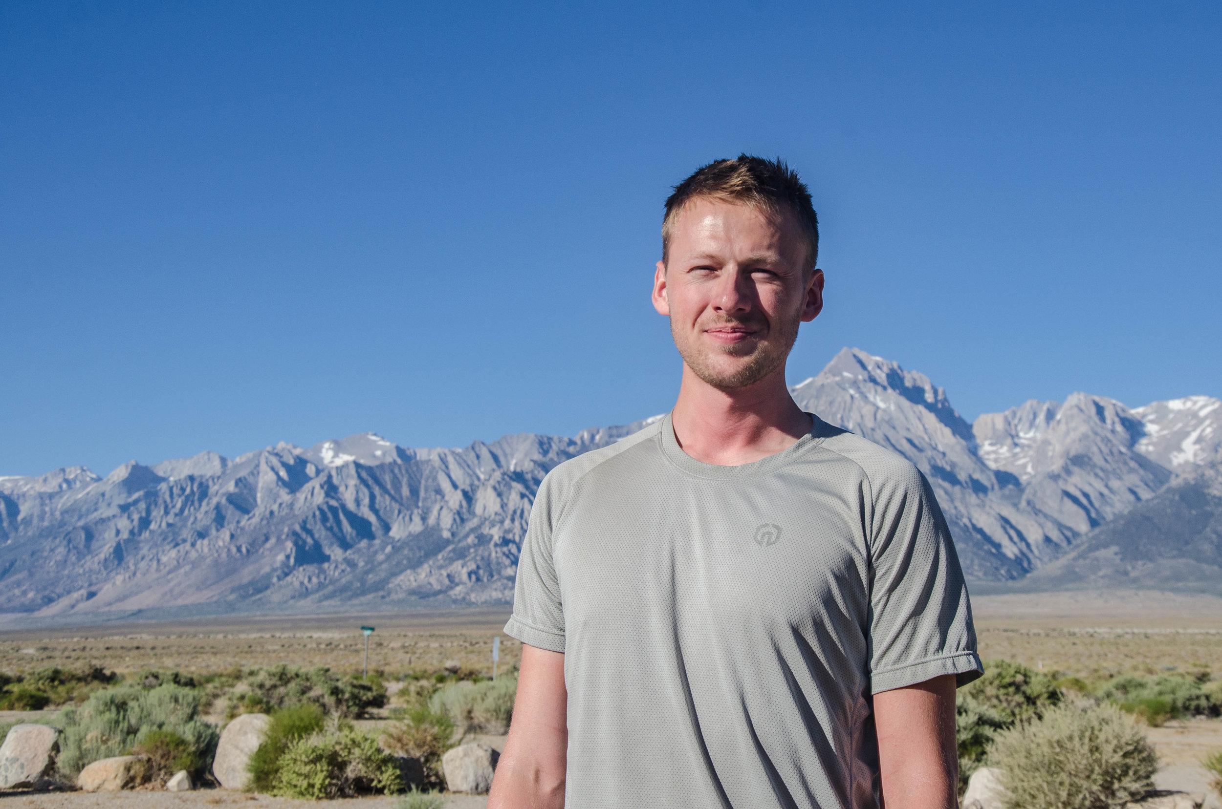 JMT hiker Ben
